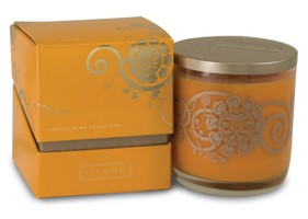 Illume Simply Fall Collection Heirloom Pumpkin Boxed Glass Candle
