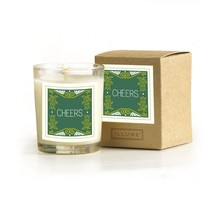 "Illume ""Cheers"" Boxed Glass Candle - Seasonal Edition"